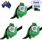 3 Pack Golf Gloves Mens Left Right Hand All Weather Black Grey Green AU Stock