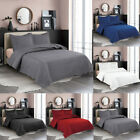 3pcs Quilt Set Embossed Reversible Bedspread Bedding Cover Coverlet + Pillowcase image