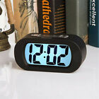 Snooze Large Digital Alarm Clock Night Light LCD Display Desk with Backlight US