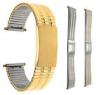 Bandini Steel Stretch Watch Band Expansion Strap Adjustable Silver, Gold 12-22mm image