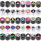 40 Style Pattern Car Valve Stems Caps Set Cover Dust Tire Wheel Anti-theft $6.79 USD on eBay