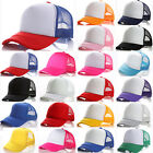 Kids Girls Boys Peaked Mesh Baseball Caps Snapback Hip Hop Adjustable Sun Hat US