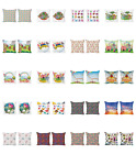 Ambesonne Colorful Scene Cushion Cover Set Of 2 For Couch And Bed In 4 Sizes