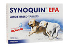 SYNOQUIN EFA NEW WITH ADDED DEXAHAN Large Breed Tablet/Caps x 120 - BEST PRICE!!