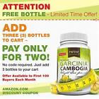 Pure Garcinia Cambogia Extract - 95% HCA Capsules - Best Weight Loss Supplement