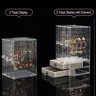 Jewelery Earring Display Rack Stand Necklace Organizer Holder Ear Studs Storage