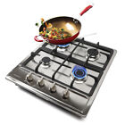 """33.8'' 23"""" Built-in Burner Cooktop Stove Cook Top & Stainless Steel NG GAS Hob photo"""