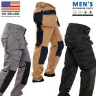 Kyпить Mens Work Trousers Multi Pocket Cordura Knee Reinforcement WorkWear Utility Pant на еВаy.соm