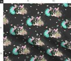 Chihuahua Tutu Spring Valentine'S Day Girly Fabric Printed by Spoonflower BTY