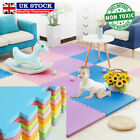 20x Large Soft Foam EVA Kids Floor Mat Jigsaw Tiles Interlocking Garden Play Mat