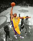 Kobe Bryant NBA Baseball Los Angeles Lakers Shot Unsigned Photo Picture 8x10