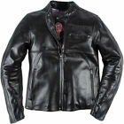 Dainese Toga72 Black Leather Retro Jacket Motorcycle Jacket New