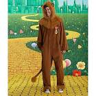 Adult Men's Women's Unisex Wizard of Oz Cowardly Lion Jumpsuit Halloween Costume