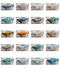 Ambesonne Ocean Scene Tablecloth Table Cover for Dining Room Kitchen