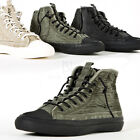 NewStylish Mens Washed high top sneakers
