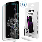 For Samsung Galaxy S20 Ultra Plus 5G UV Full Tempered Glass Screen Protector