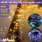Led Fairy String Lights Remote Control Lamps Home Party Garden Festival Decor Uk