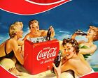 Coca Cola Vintage Poster Collection (28) - Van-Go Paint-By-Number Kit $31.15  on eBay