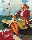 Coca Cola Vintage Poster Collection (30) - Van-Go Paint-By-Number Kit $31.15  on eBay