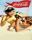 Coca Cola Vintage Poster Collection (58) - Van-Go Paint-By-Number Kit $31.15  on eBay