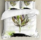 Artichoke Duvet Cover Set Twin Queen King Sizes with Pillow Shams