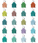 Ambesonne Apron Bib Adjustable Strap for Gardening and Cooking Vivid Colors