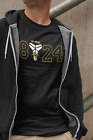 Kobe T-shirt Bryant T-Shirt GOAT Black Mamba 8 24 Logo Los Angeles Lakers Shirt on eBay