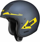 HJC IS-5 ARROW MC-3F Open-Face Helmet - Matte/Yellow - Adult Sizes XS-2XL