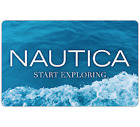 Nautica Gift Card - $25, $50 or $100  Email delivery