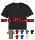 AAA ALSTYLE 1301 MENS PLAIN T SHIRT CASUAL SHORT SLEEVE BASIC COTTON TEE image