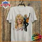 FREESHIP Vintage 90's 1994 Dolly Parton T-Shirt Music Limited Tee Cotton S-6XL  image