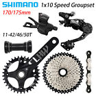SHIMANO Deore M6000 1x10 Speed MTB Groupset 170MM/175MM 11-42/46/50T