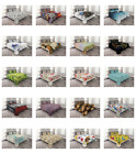 Coverlet Set with Shams Quilted Bed Cover Bedspread by Ambesonne