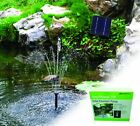 PondXpert Solar Shower Pump / Koi Pond Solar Powered Fountain