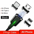Phone Cable Magnetic Cables Universal 3.0 4.0 Micro USB Cords Fast Charging Cord