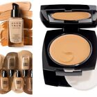 Avon foundation samples various shades cream to powder Flawless Powerstay trial