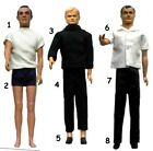 "1965 JAMES BOND MAN UNCLE 12"" gilbert figure -- SHIRT PANTS PISTOL SHOES SOCKS $13.46 USD on eBay"