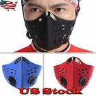 US Riding Mask Anti-Haze Sports Air Purifying Face Mouth Cycling Outdoor