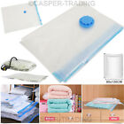 90 x 130CM STRONG VACUUM STORAGE BAGS SEAL VAC COMPRESSED SAVING SPACE ORGANISER