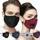 USA SELLER Cotton Unisex Reusable Anti Dust Washable Mouth PM2.5 Flitter