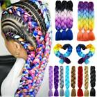 Real Ombre Kanekalon Jumbo Braiding Hair Extension Twist Braids Any Colors 24 US