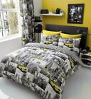 New Design NEW YORK PATCHY Modern Style Duvet Cover Sets Reversible Bedding Sets