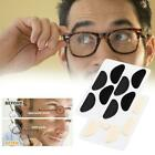 4 Pairs Half Moon Shape Carded Soft Foam Cushion Stick-on Pads -glasses M4j1