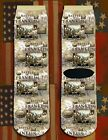 Battle of Franklin American Civil War/War Between the States crew socks