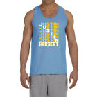 Los Angeles Chargers Justin Herbert Text Tank Top $22.99 USD on eBay