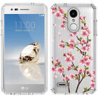 for LG Tribute Dynasty/Empire(Clear) Slim Flexible TPU Skin Phone Case Cover-D2