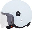 AFX FX143 Scooter Open Face Helmet WHITE
