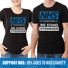 TOGATHER WE STAND STRONGER T-SHIRT Support NHS & Key workers 10% Sales Goes NHS