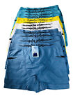 12 Pack Mens Stretchy Microfibre Boxer Shorts L 32-36 inch Waist Wicking Running