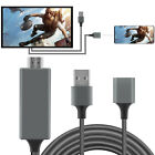 1080P HD Phone to HDMI TV HDTV Cable Adapter for iPhone/iOS/Android/Samsung/LG